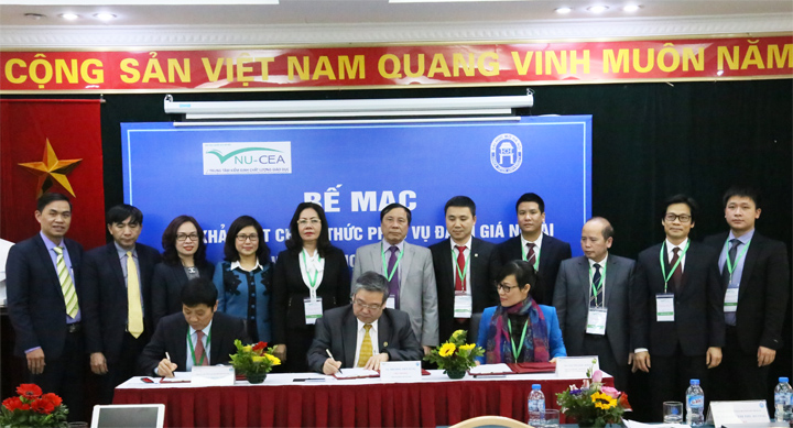 Closing the official survey to serve external evaluation of Hanoi Open University